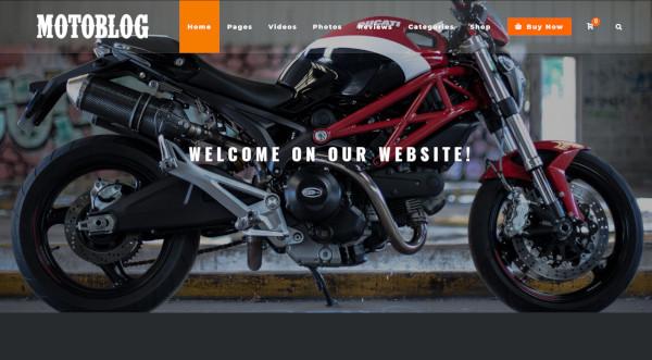motoblog – 540 icons wordpress theme