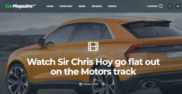 motors – customized wordpress theme