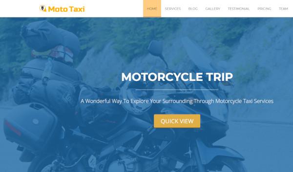 mototaxi – responsive wordpress theme