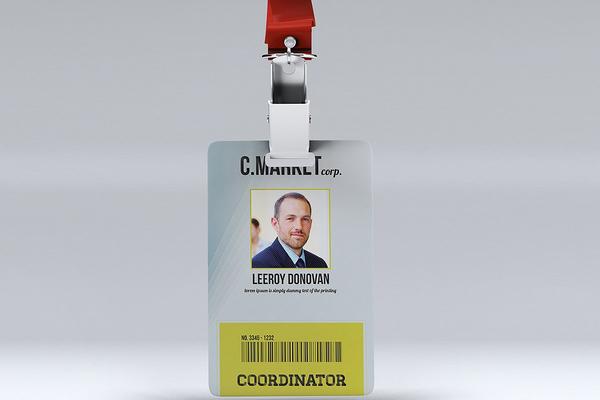 multipurpose id badge