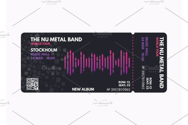 music-concert-ticket