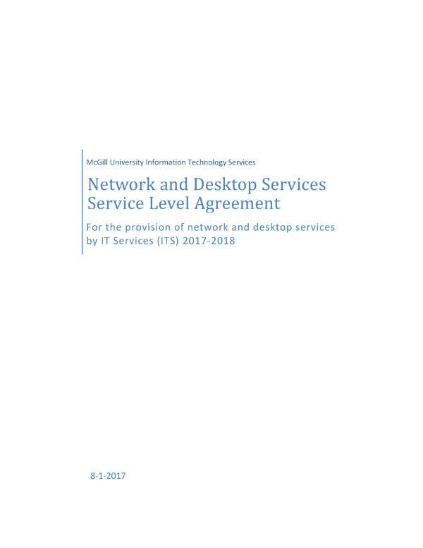 network and desktop services agreement 011