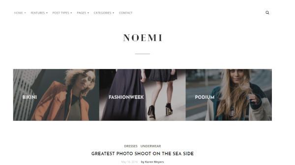 noemi– speedy wordpress theme