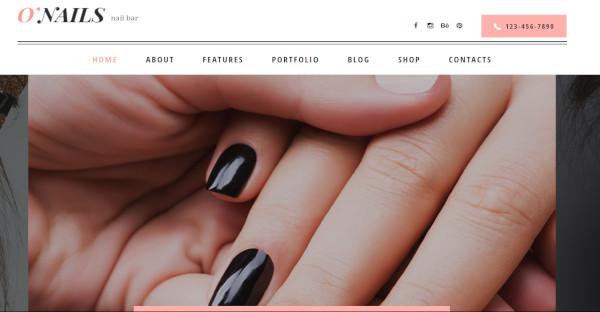 O'Nails - Spa WordPress Theme