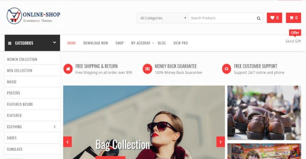 online shop speedy wordpress theme