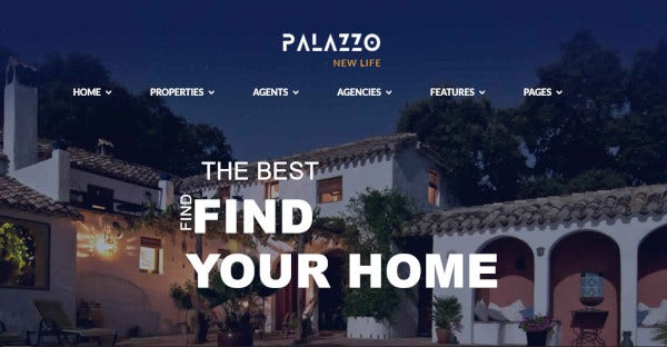 Palazzo - WordPress Theme For Real Estate Agents