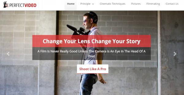 perfect video mobile responsive wordpress theme