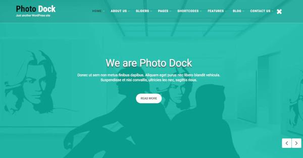photodock woocommerce wordpress theme
