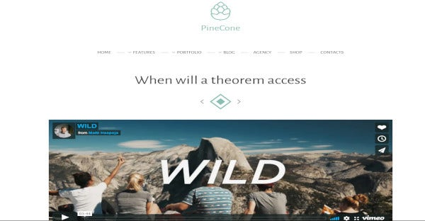 pinecone-seo-friendly-wordpress-theme