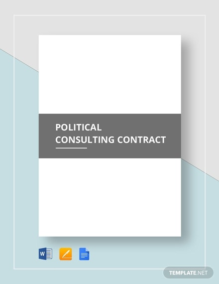 political consulting contract 2