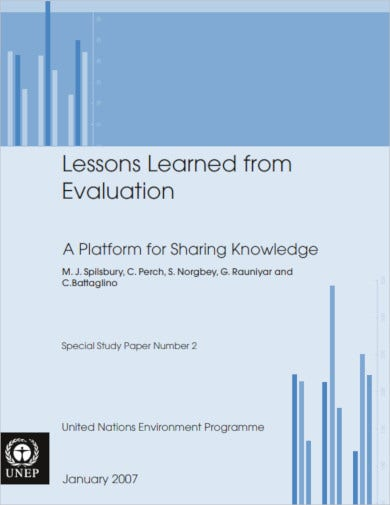 printable lesson evaluation