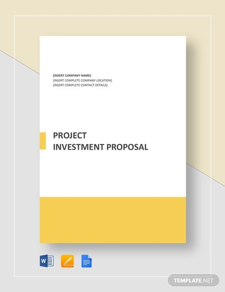 project investment proposal template1