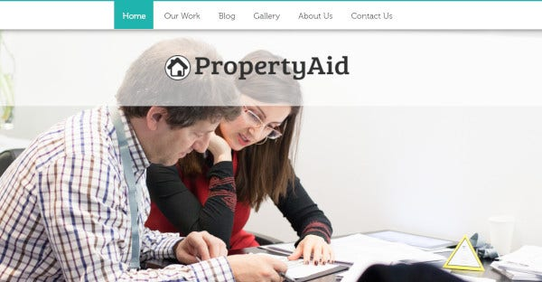 property aid responsive wordpress theme