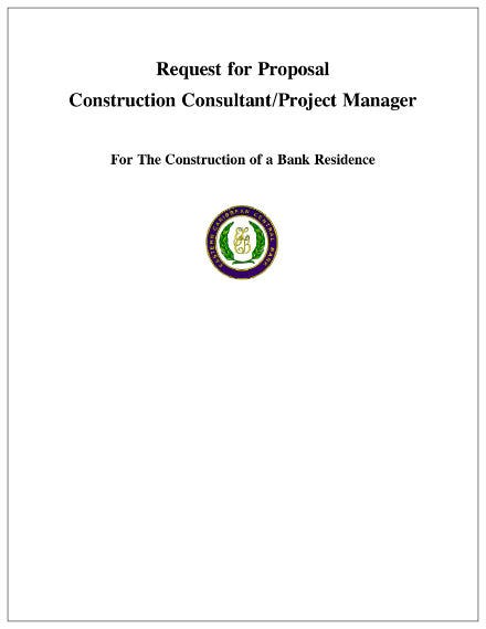 proposal construction consultant request 1