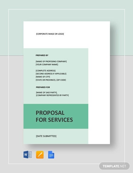18 Service Proposal Templates Word Pdf Apple Pages Google Docs Free Premium Templates