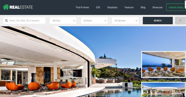 Real Estate 7 - WordPress Theme For Real Estate