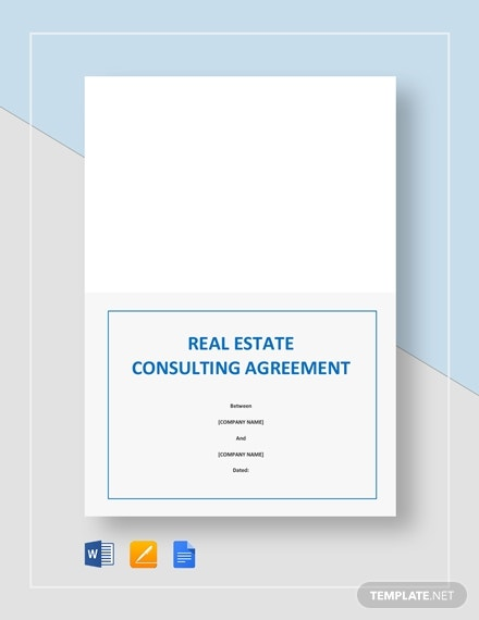 real estate consulting agreement 2