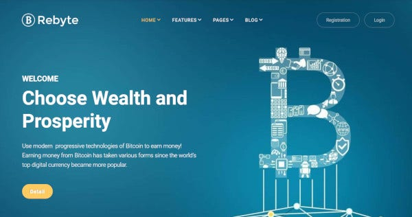 rebyte-bitcoin-elementor-wordpress-theme