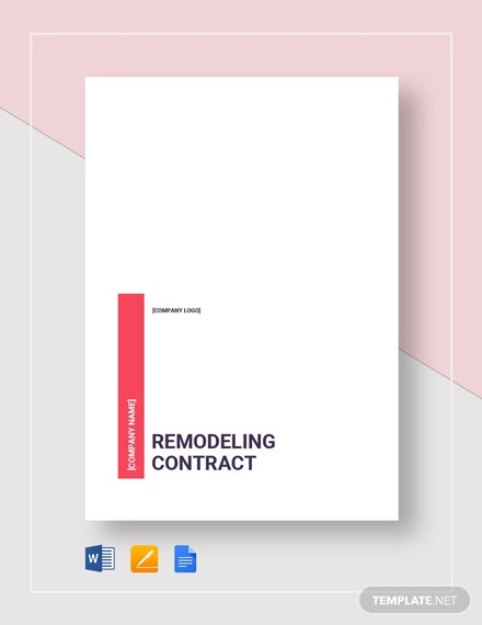 remodeling contract 2
