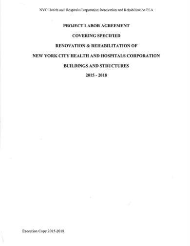 renovation and rehabilitation contract 001