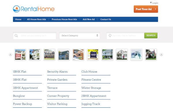 rentalhome – seo friendly wordpress themes