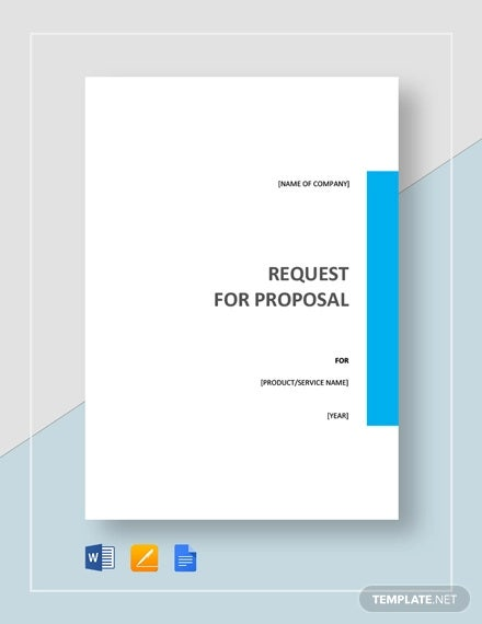 Request For Proposal Template 13 Free Word Pdf Documents