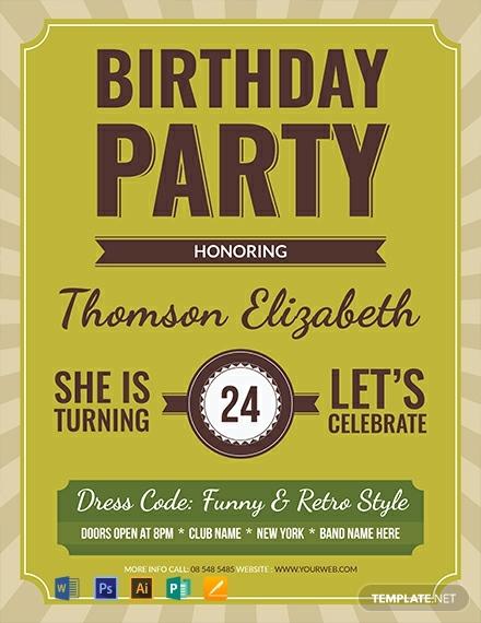 retro-birthday-flyer-template