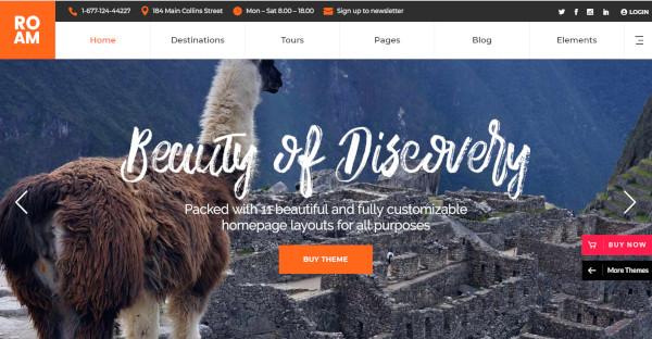 roam travel and tourism