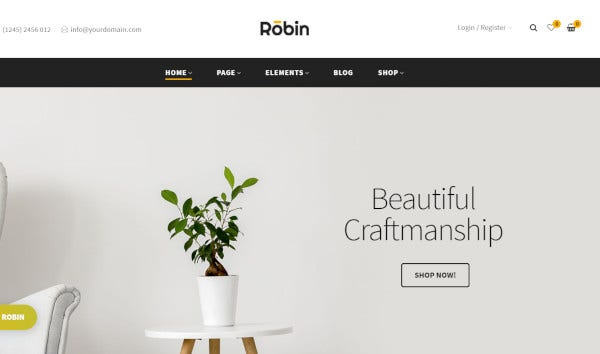 robin-wpbakery-wordpress-theme
