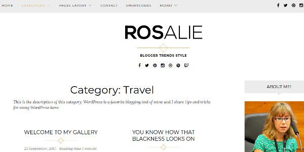 rosalie-gutenberg-ready-wordpress-theme