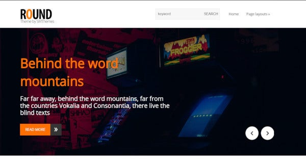 Round - Highly Customizable WordPress Theme