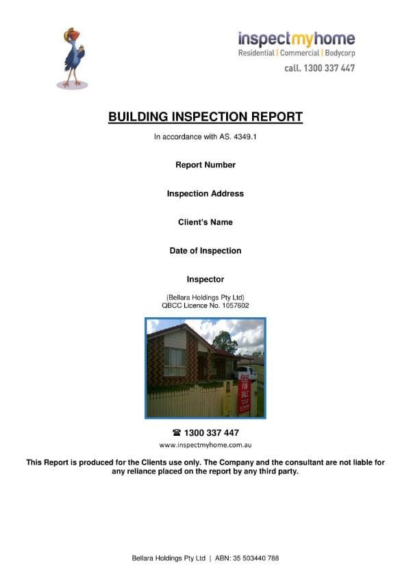 sample building report 01