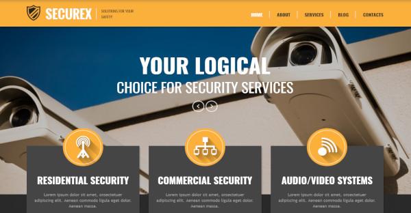 SECUREX - 600+ Google Fonts WordPress Theme
