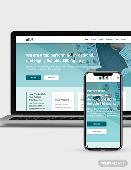seo agency landing page wordpress theme template 440 2