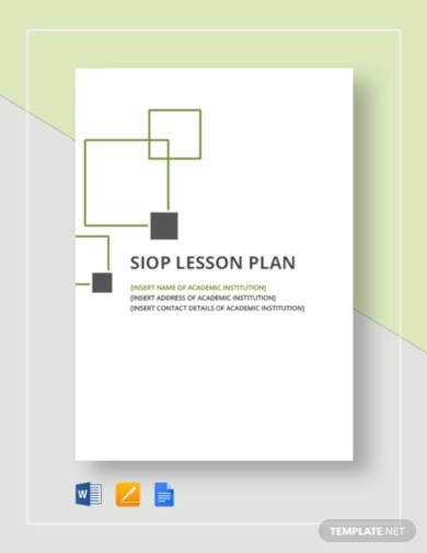 siop lesson plan template1