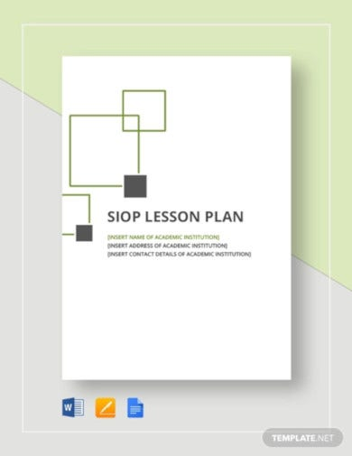 siop lesson plan template2
