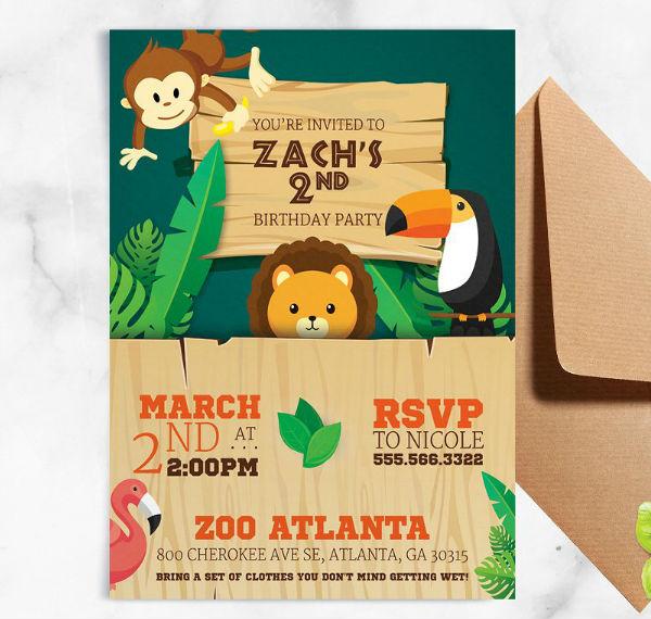 safari-jungle-kid-birthday-flyer