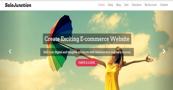 salejunction multiple browsers compatible wordpress theme