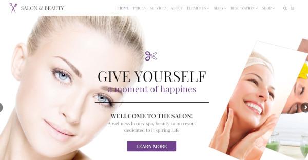 salon – beauty and spa wordpress theme