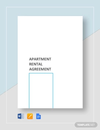 sample apartment rental agreement template1