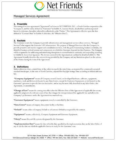 sample managed services contract1