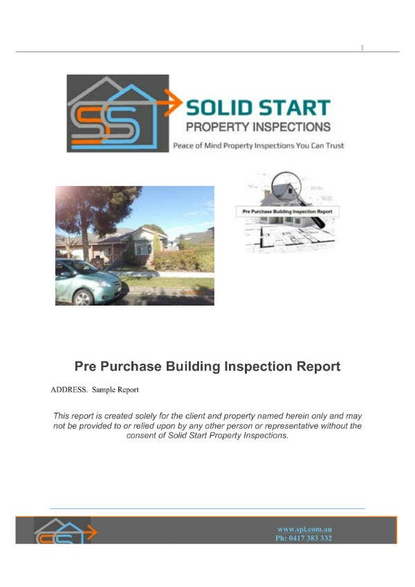 sample property inspection report 011