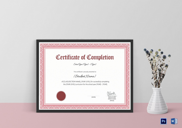 school-completion-certificate-template