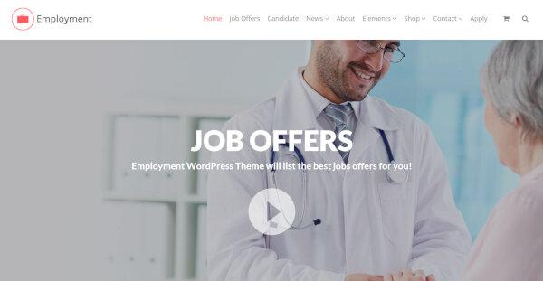 Employment - Visual Composer WordPress Theme