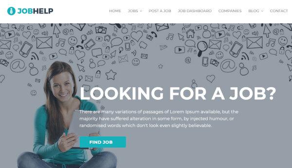 Jobhelp – Rich Recruitment Plugins Supported WordPress Theme