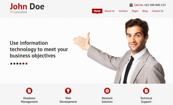 IT Consultant – Shortcode Plugin Supported WordPress Theme