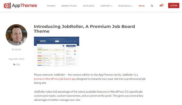 JobRoller - AJAX Supported WordPress Theme