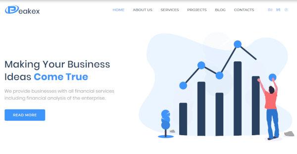Peakex – Elementor Page Builder WordPress Theme