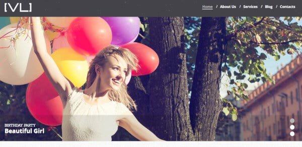 11. Happy Moments Videography – Bootstrap Framework WordPress Theme