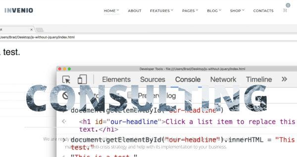 6. Invenio- Live Search Finance WordPress Theme